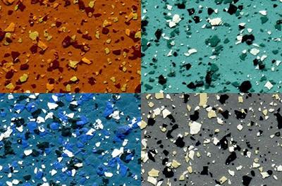 Флок-чипсовые декоративные покрытия Мраморикс Колор