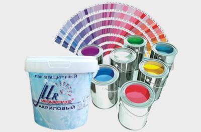 Краска водно-дисперсионная акриловая