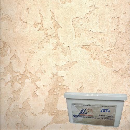 Штукатурка Карта мира лессированная 3
