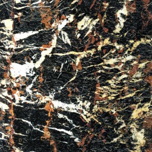 Гибкий камень Мраморикс SoftStone Natural Rock Мрамор Черно-красный