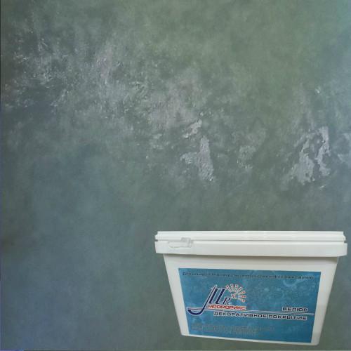 Тонкослойное декоративное покрытие Мраморикс Нано Велюр Маяк