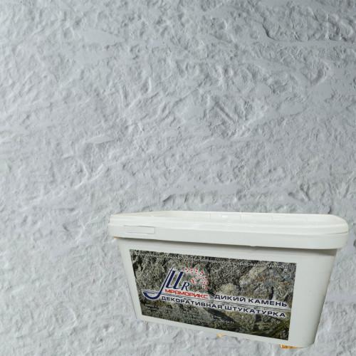 Фактурная штукатурка Дикий камень под окрас