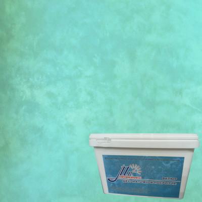 Тонкослойное декоративное покрытие Мраморикс Нано Велюр Бирюза