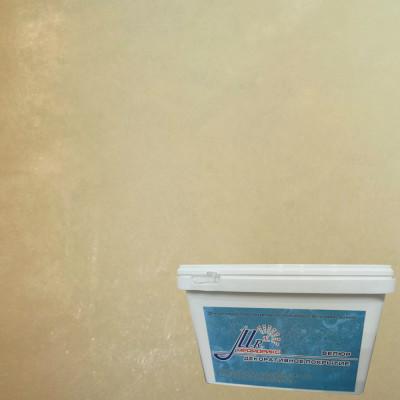 Тонкослойное декоративное покрытие Мраморикс Нано Велюр Капучино