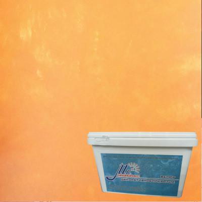 Тонкослойное декоративное покрытие Мраморикс Нано Велюр Персик