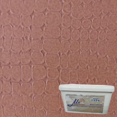 Мраморикс дизайн Кожа Рептилия коричневая лессированная
