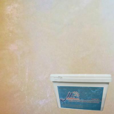 Тонкослойное декоративное покрытие Мраморикс Нано Велюр Ваниль