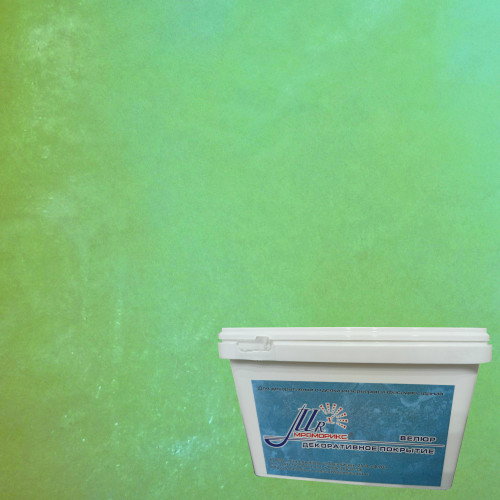 Тонкослойное декоративное покрытие Мраморикс Нано Велюр Весенний
