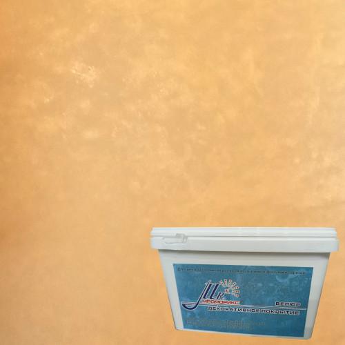 Тонкослойное декоративное покрытие Мраморикс Нано Велюр Золото